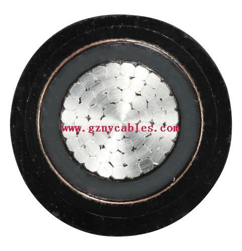YJY03-19∕33kV-1×630(额定电压19∕33kV铜芯交联聚乙烯绝缘铜带金属屏蔽双护套电力电缆)