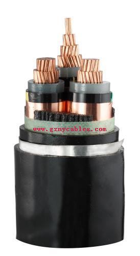 ZC-YJV22-26∕35kV-3×240交联电缆