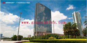 """广州香格里拉大酒店 Shangri-La Hotel 广州香格里拉大酒店位于城中新商业区的黄金地段,坐拥幽雅的青葱园林,俯瞰珠江的秀丽景致,以""""亚洲式殷勤待客之道""""为旅客们诠释香格里拉之典范。"""