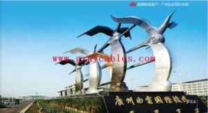 广州白云国际机场 Guangzhou Baiyun International Airport 广州白云国际机场(ICAO机场代码:ZGGG;IATA机场代码:CAN),建于2000年08月,是位于广东省省会广州市的一座大型民用机场,国内三大航空机场之一,于2004年08月05日正式启用,地处广州市白云区人和镇和花都区新华街道、花东镇交界处,往返机场有机场高速直达。2016年2月29日,全球机场服务满意度测评权威机构——国际机场协会(ACI)在蒙特利尔宣布2015年度机场服务质量(ASQ)旅客满意度项目评测结果,广州白云机场荣获亚太区最佳机场第三名。2015年共有凌驾80个国家的300多家机场凌驾55万名旅客到场了该调查项目。Skytrax根据等待时间、清洁水平、购物体验等旅客乘机体验要素,发布了此次2015年世界主要机场排名。2016年2月29日,全球机场服务满意度测评权威机构——国际机场协会(ACI)在蒙特利尔宣布2015年度机场服务质量(ASQ)旅客满意度项目评测结果,广州白云机场荣获亚太区最佳机场第三名、年旅客吞吐量4000万级以上最佳机场第三名两个奖项。全球300多家机场和凌驾55万名旅客到场了该调查项目。